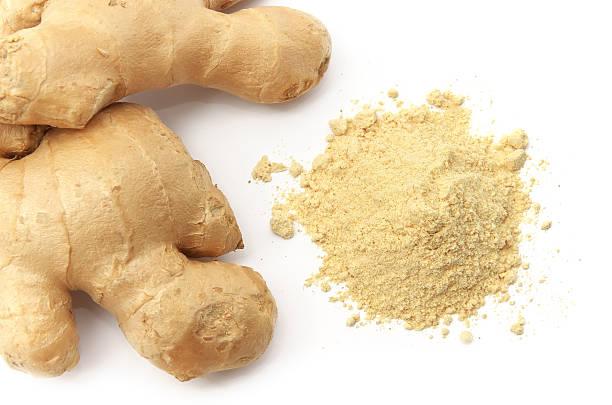 Isolated ginger. stock photo