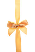 istock Isolated golden bow 172443692