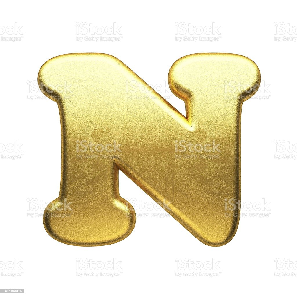 isolated golden figure royalty-free stock photo