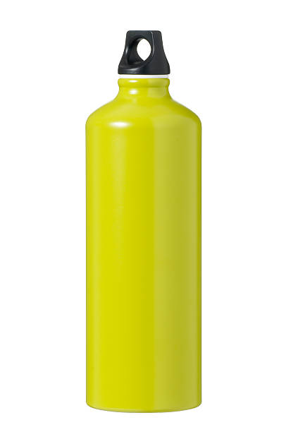 isolated green flask - flask stock photos and pictures