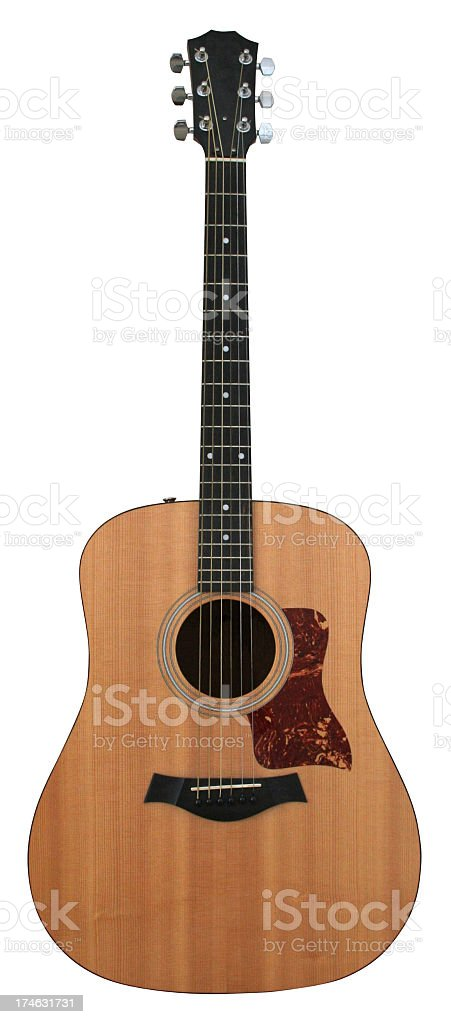 Isolated Guitar royalty-free stock photo