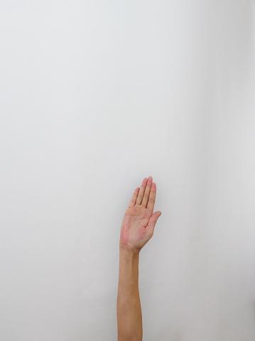 istock Isolated hand 1060626644