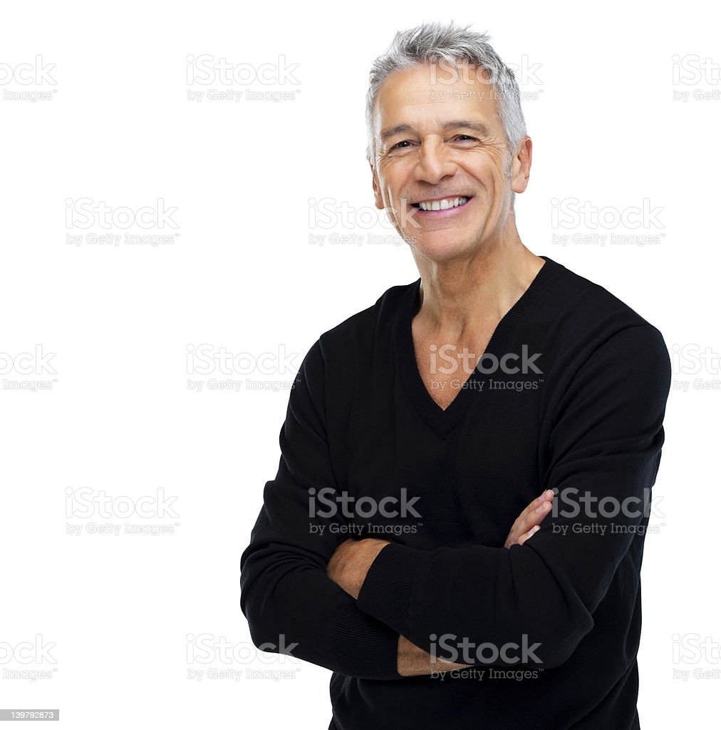 Isolated happiness royalty-free stock photo