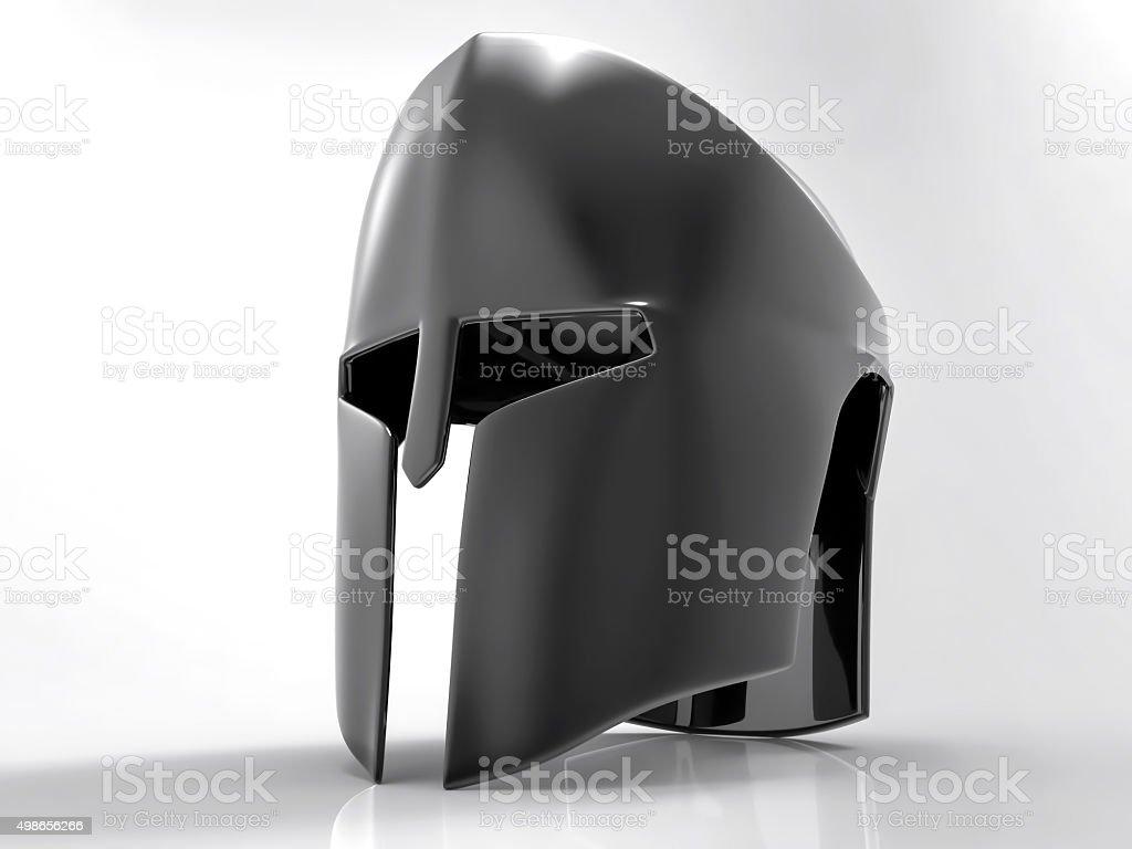 3D Isolated Helmet stock photo