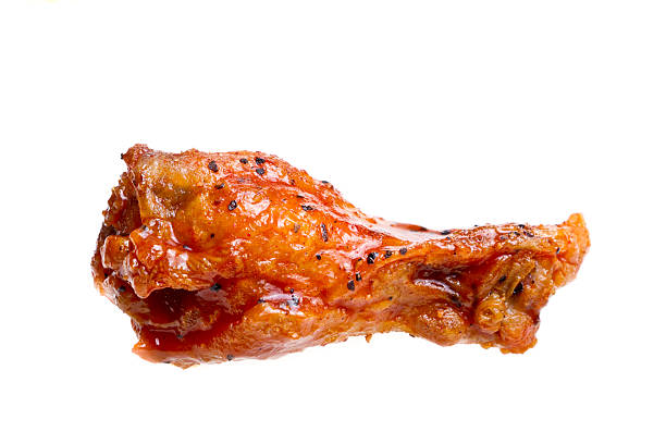 isolated hot wing - animal wing stock photos and pictures