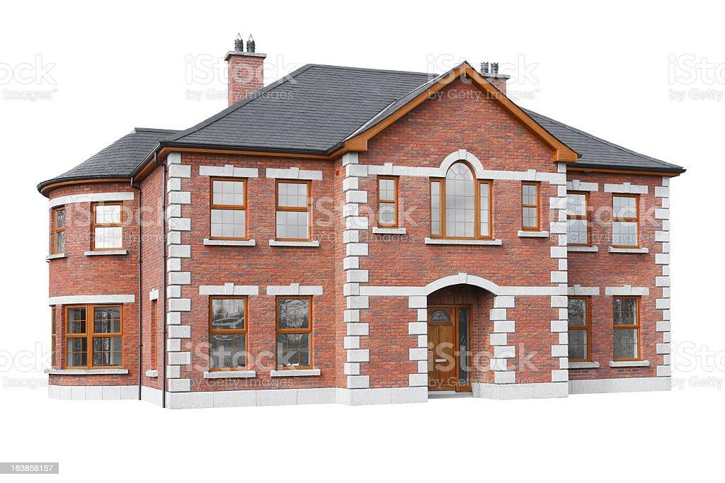 Isolated house model stock photo