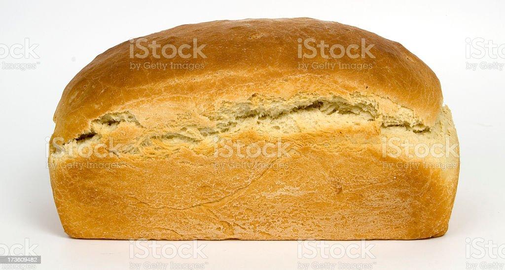 Isolated image of freshly baked bread stock photo