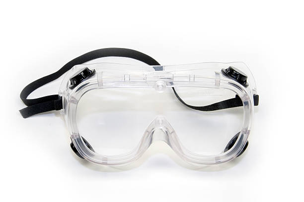 Isolated image of safety goggles Safety Goggles protective eyewear stock pictures, royalty-free photos & images