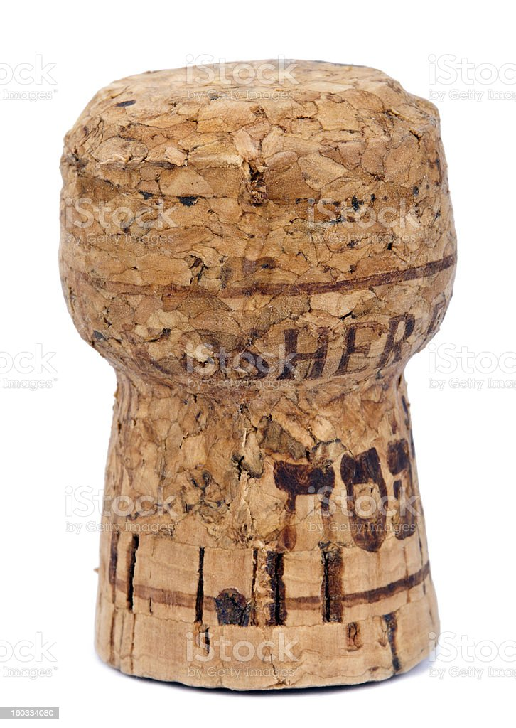 Isolated Kosher Cork royalty-free stock photo