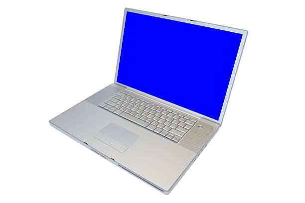 Isolated Laptop Computer stock photo