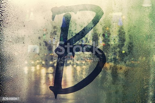 istock Isolated letter. 526466941