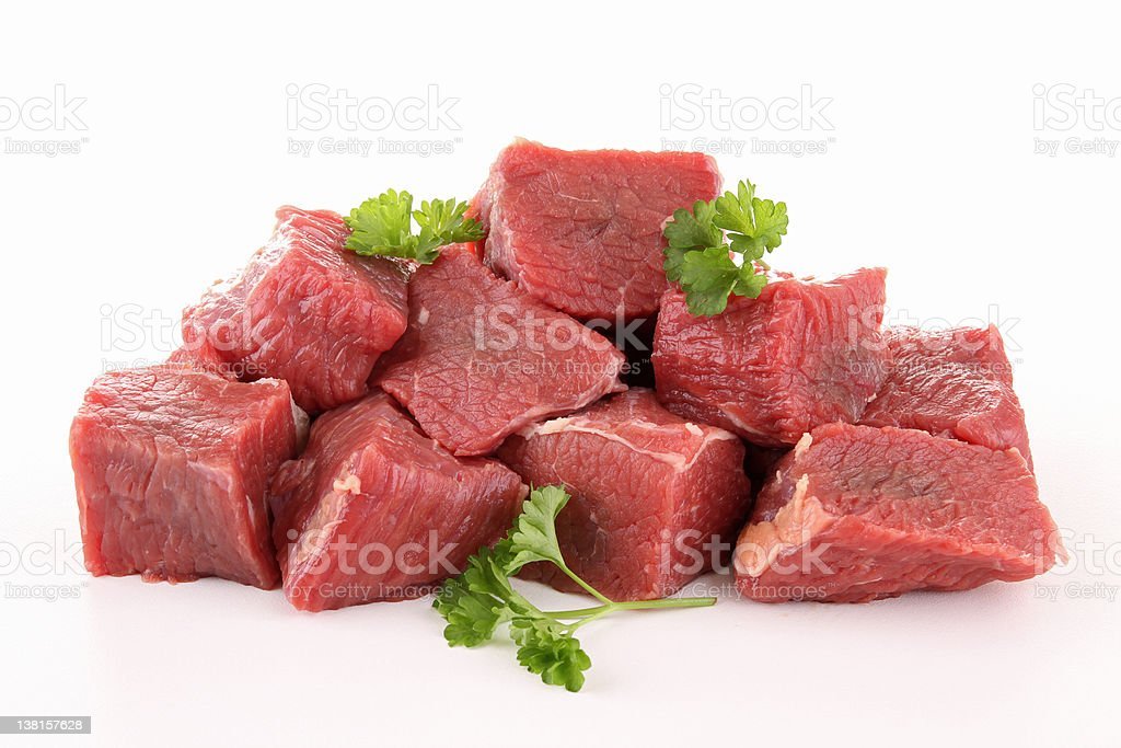 isolated meat beef stock photo
