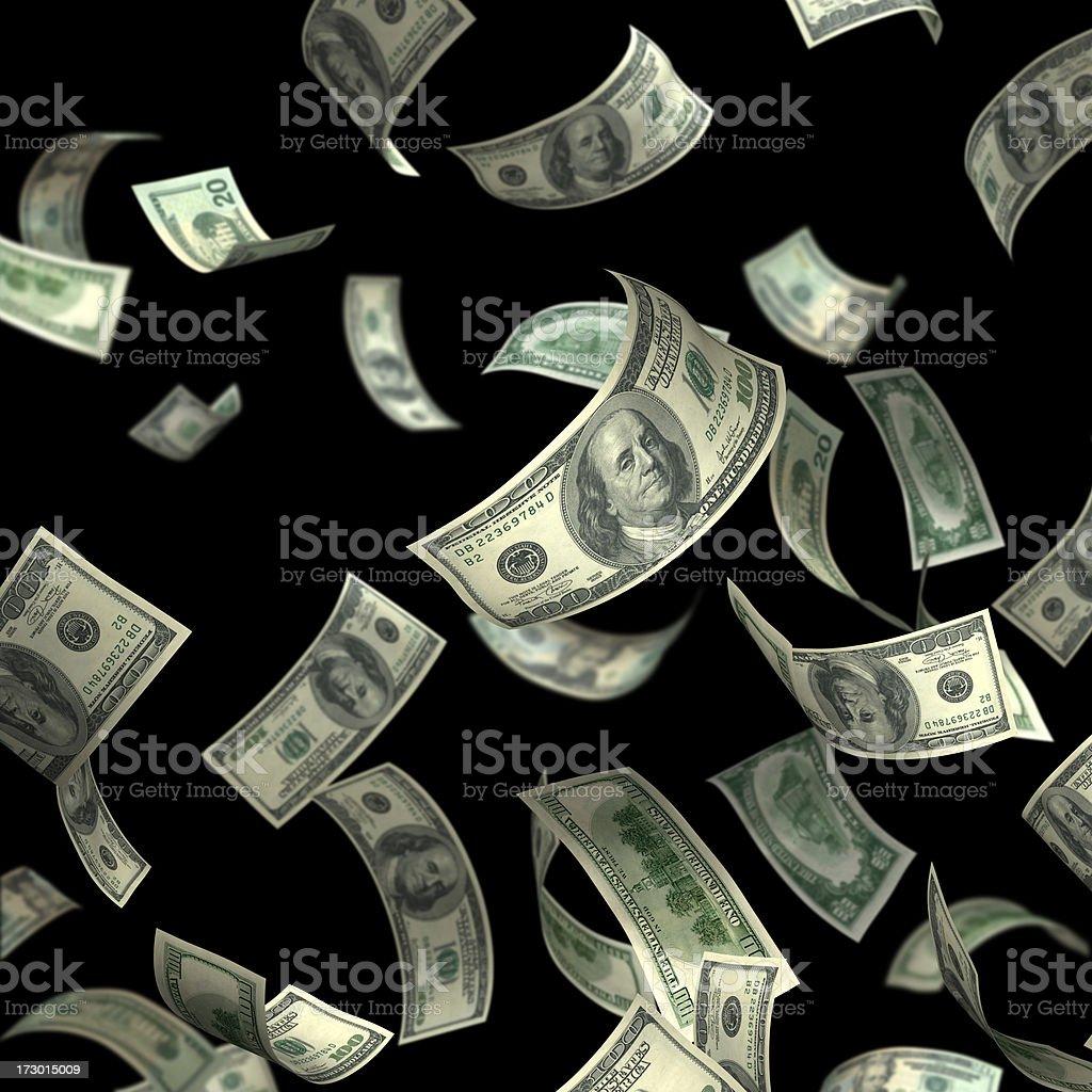 Isolated Money(XXL) stock photo