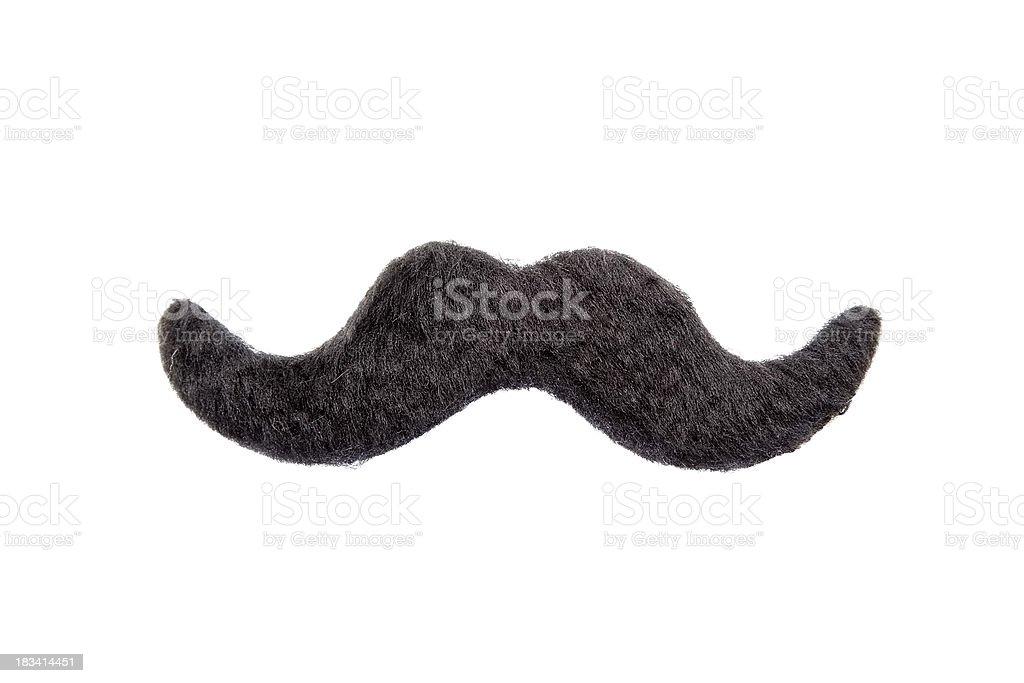 Isolated Mustache stock photo