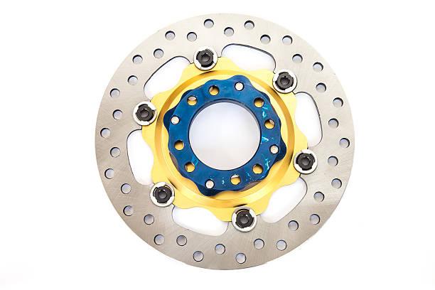 Isolierte neue CD Bremse für Motorräder – Foto
