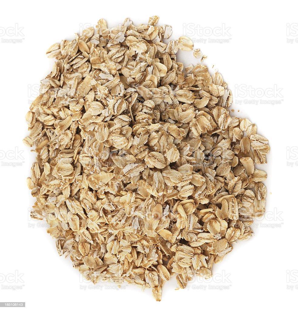 Isolated Oatmeal stock photo