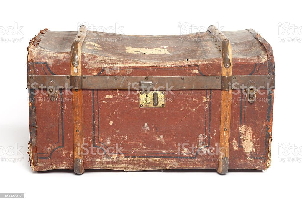 isolated old trunk XXXL royalty-free stock photo