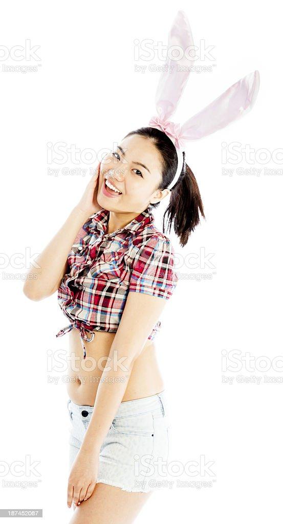Sexy asian bunny