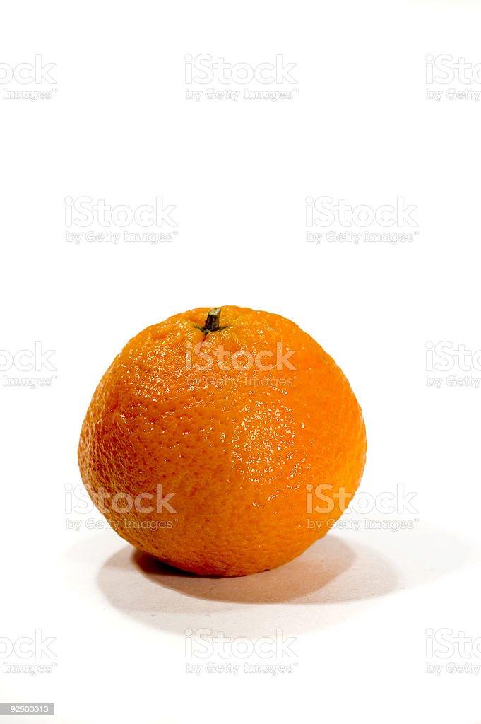 Isolated Orange royalty-free stock photo