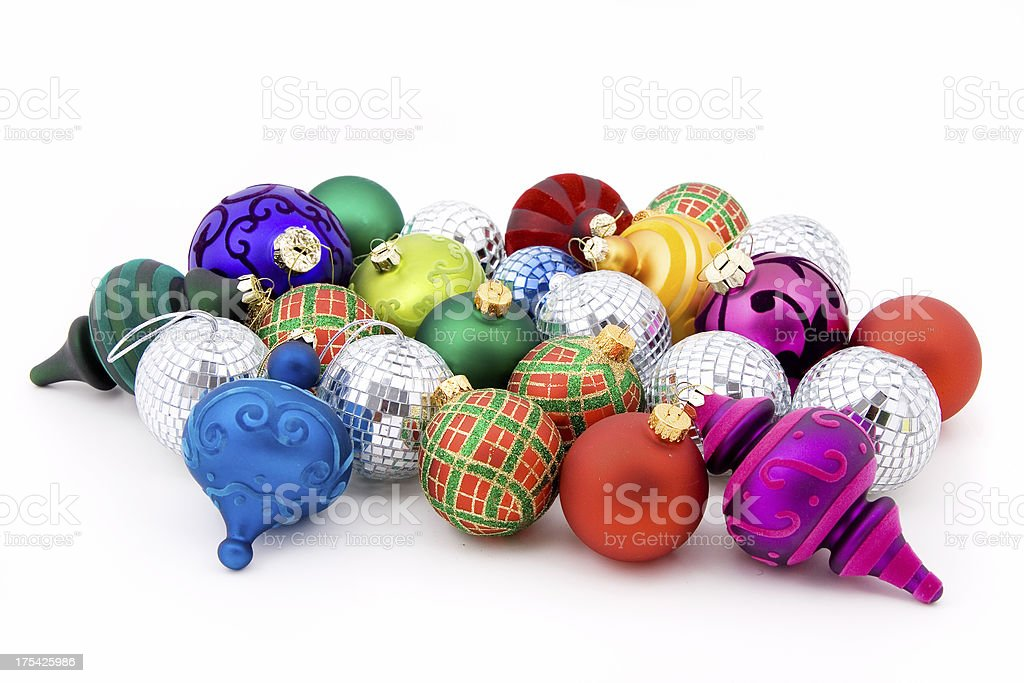 Isolated ornaments royalty-free stock photo
