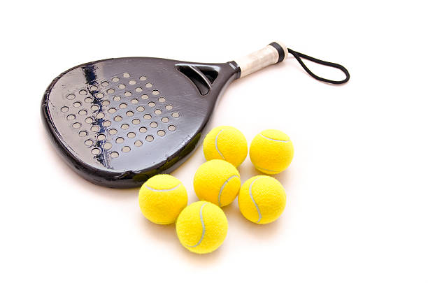 isolated paddle objects - racket stock pictures, royalty-free photos & images