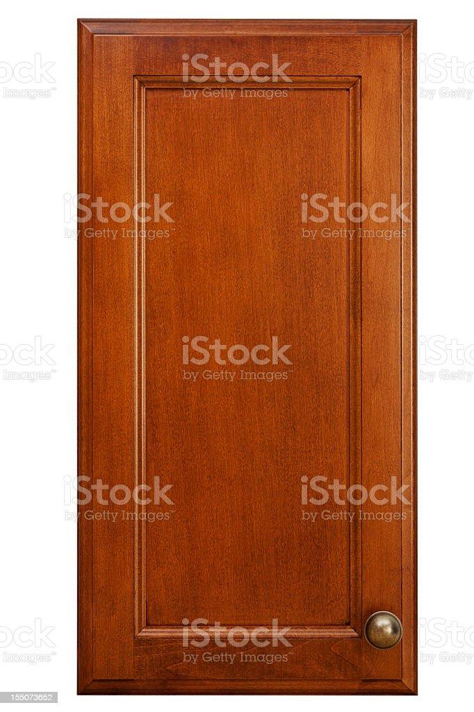 Tür Aus Kirschholz Küche Schrank Stockfoto 155073652 | iStock