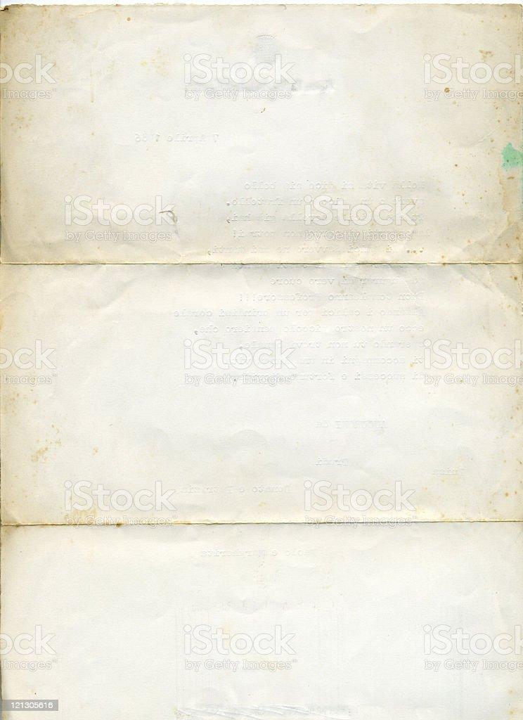 Stary white paper - Zbiór zdjęć royalty-free (Abstrakcja)