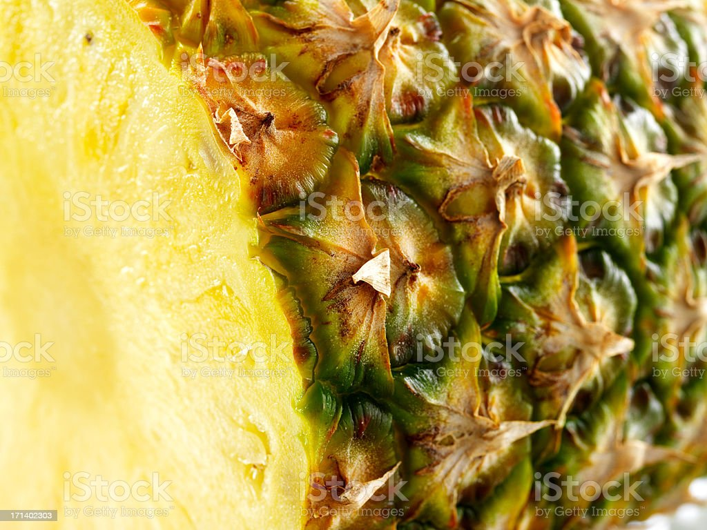 Isolated pineapple royalty-free stock photo