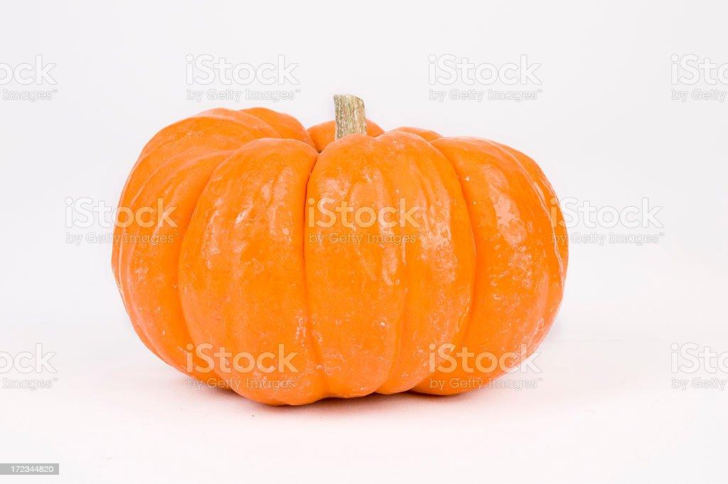 Isolated Pumpkin royalty-free stock photo