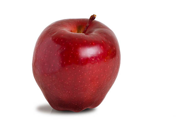 Isolated Red Delicious Apple stock photo