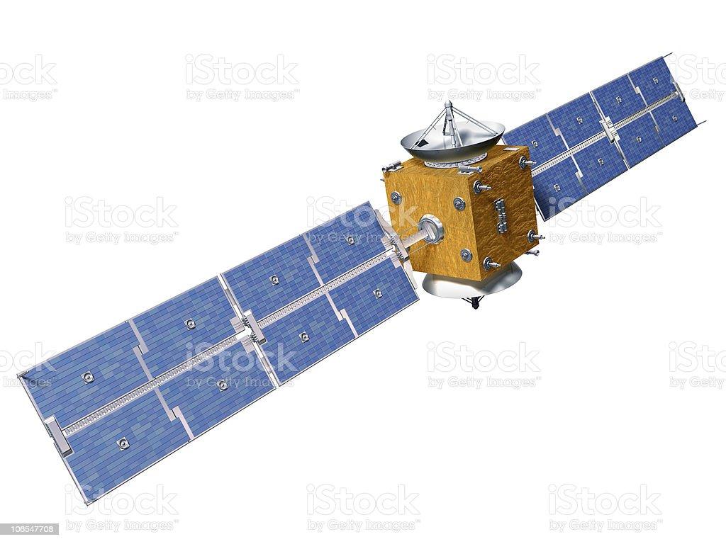 Isolated Satellite stock photo