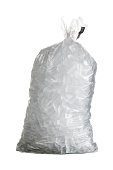istock Isolated shot of bag containing ice 177297302
