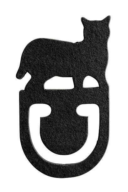 Isolated shot of black cat paper clip on white background picture id160238771?b=1&k=6&m=160238771&s=612x612&w=0&h=uyjjgldog7uqa9ohwohg1wagwwovkqk 2wgaem8zhg0=