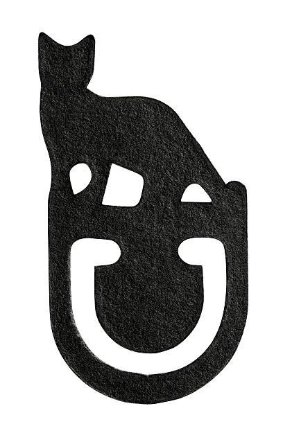 Isolated shot of black cat paper clip on white background picture id160238868?b=1&k=6&m=160238868&s=612x612&w=0&h=nzv4igobtzvx0ytdlj4mvwvbt3xhtemn3dcbzhu uco=