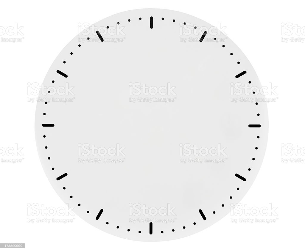 worksheet Empty Clock isolated shot of blank clock face on white background stock photo royalty free photo