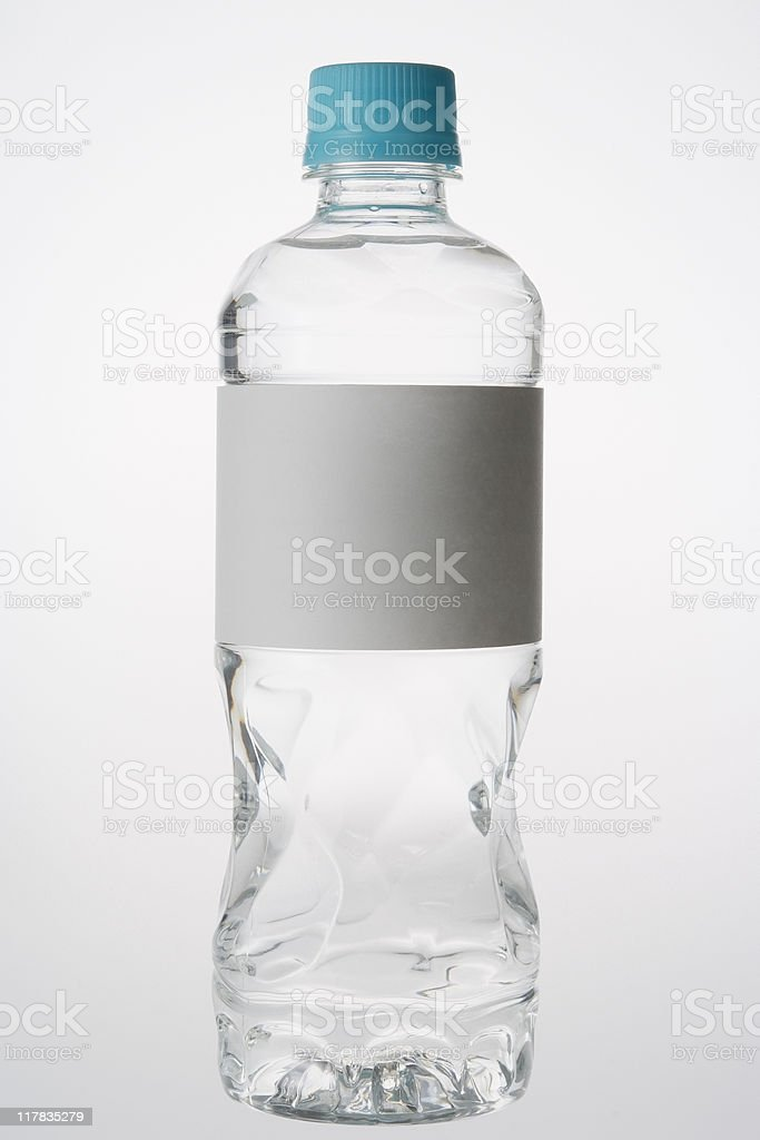 Vide bouteille d'eau. - Photo