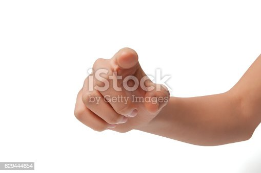 182925103 istock photo Isolated shot of press the button against white background 629444654