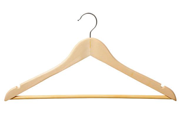 kleiderbügel - garderobenhaken stock-fotos und bilder