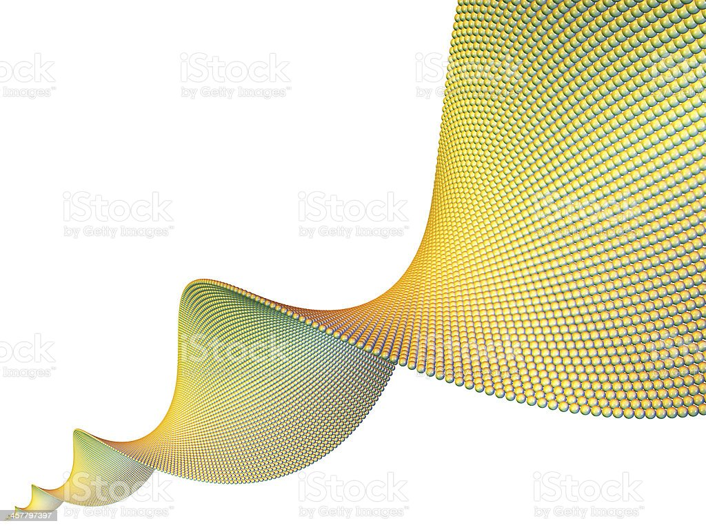 Isolated Spiral Element royalty-free stock photo
