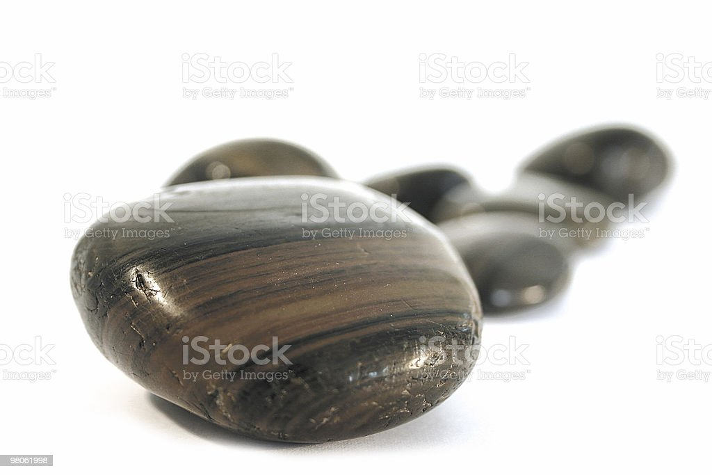 Isolated Stones royalty-free stock photo