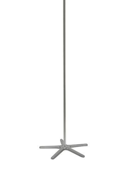 isolated stripper pole - pfosten stock-fotos und bilder