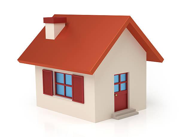 Isolierte stilisierte little house – Foto