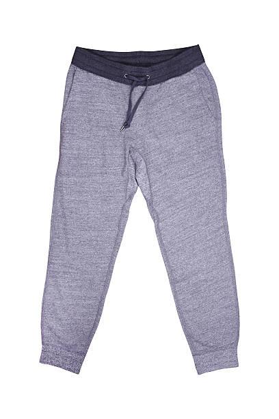 isolierte sweathosen - sweatpants stock-fotos und bilder