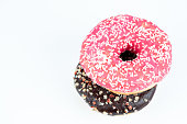 istock isolated sweet colorful donut 1079751506