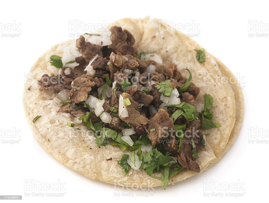 Isolated Taco stock photo