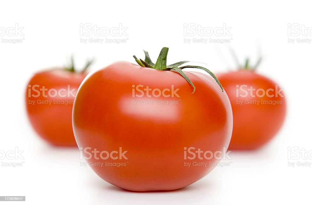 Isolated Tomatoes stock photo