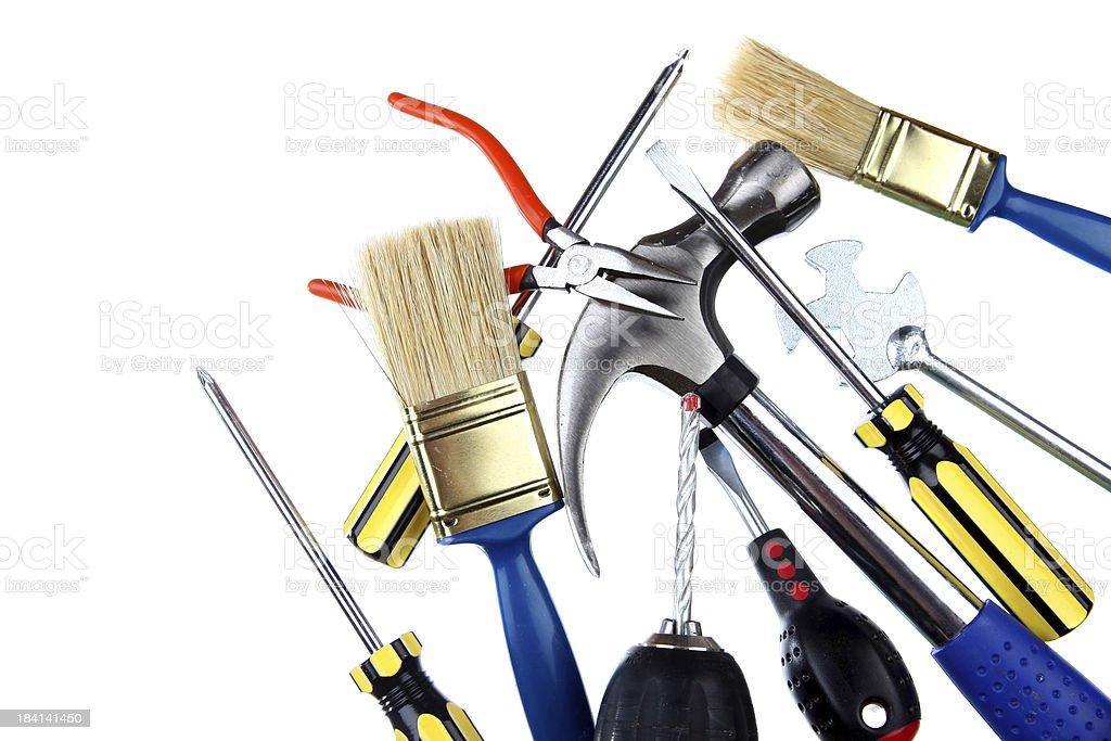 Isolated tools royalty-free stock photo