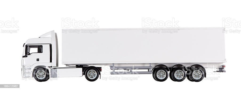 Isolated Truck royalty-free stock photo
