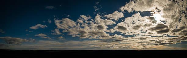 Valle aislado en la patagonia, argentina - foto de stock