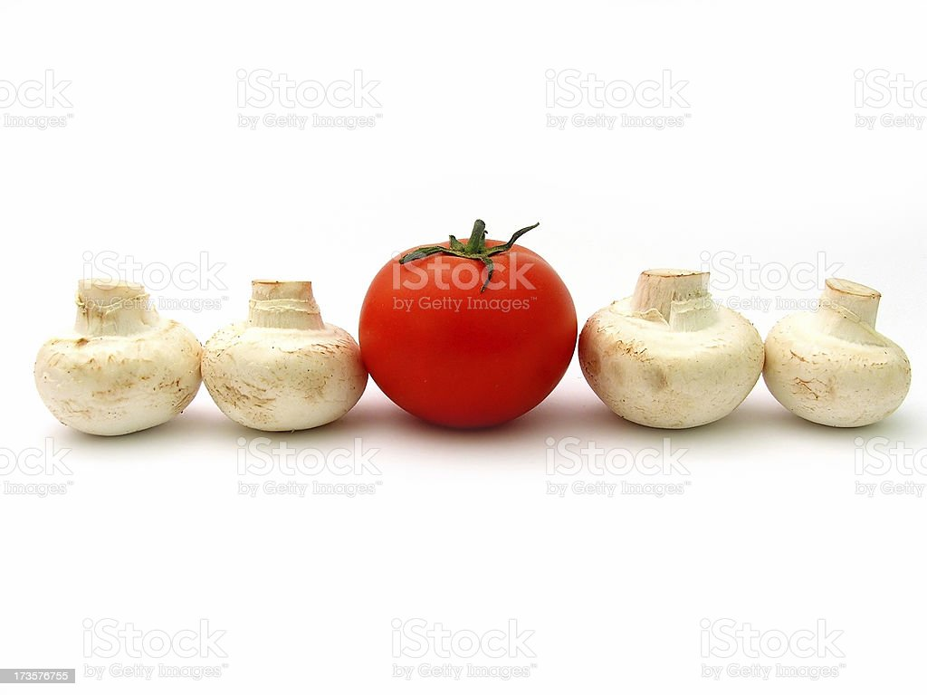 Isolated Vegetables royalty-free stock photo